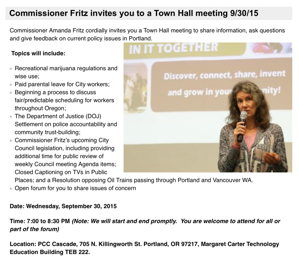 Fritz Town Hall