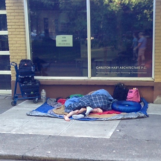 Day Campers on North Park Blocks ~ Aug 2015