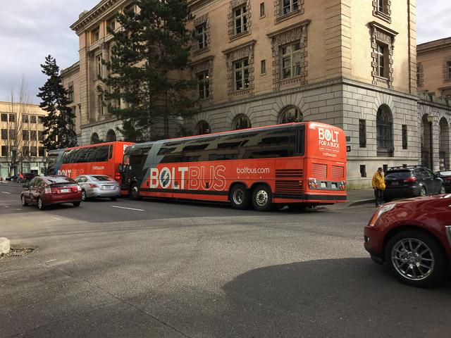 Bolt bus depot