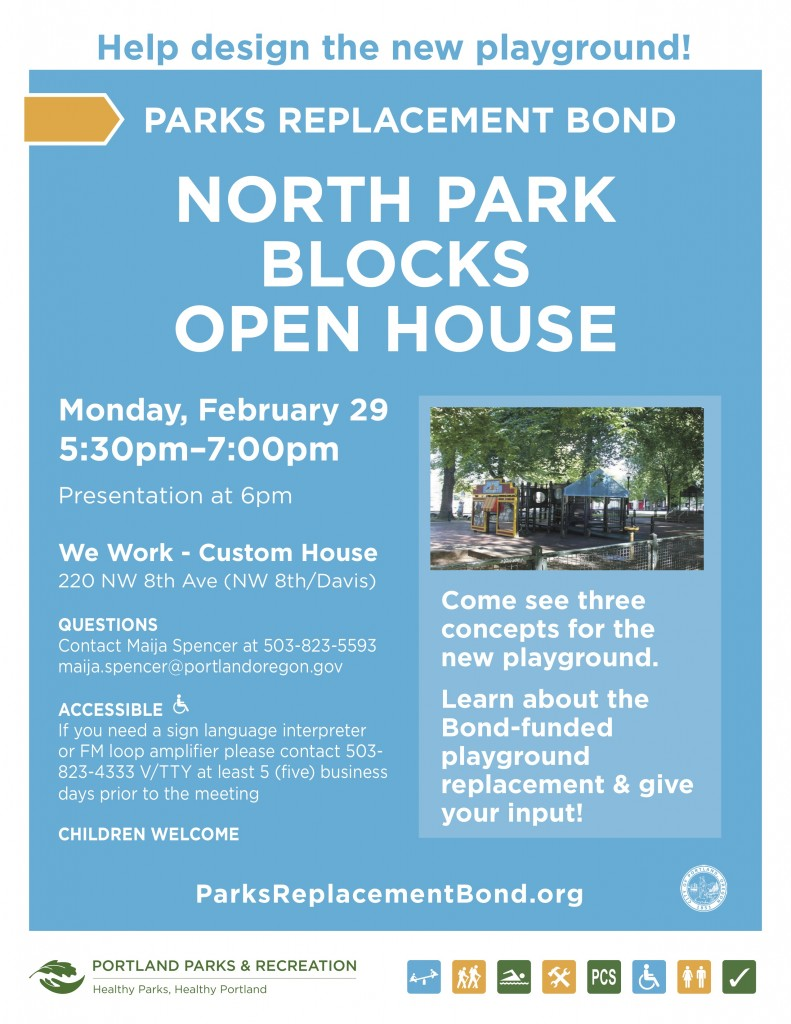Flyer - N Park Blocks 160229