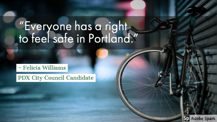 Everyone has a right to feel safe in Portland