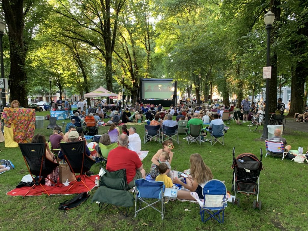 North Park Blocks Movie Night