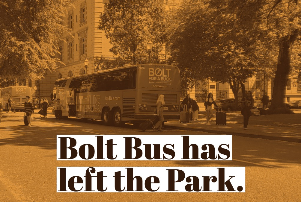 Bolt Bus is Gone